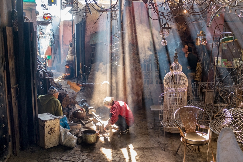 Streets of Marrakech